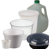 Disposable food and beverage containers