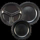 Laminated Black Foam Plates