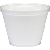 12 oz Squat Foam food Containers