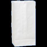 12 lb White Paper Bags