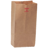 16 lb Brown Paper Bags