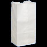 20 lb White Paper Bags