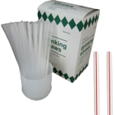 7 3/4 inch Unwrapped Straws