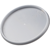 Plastic Lids for 8 oz and 16 oz oz Extra Squat Foam Food Containers