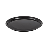 Fineline Settings 7201-BK Black Supreme 12 Round Tray
