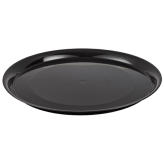 Fineline Settings 7801-BK Black Supreme 18 Round Catering Tray