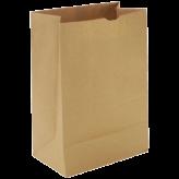 57 lb Brown Paper Bags 1/6 BBL