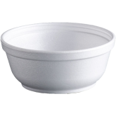 8 oz Squat Foam food Containers (B Type)