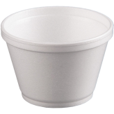 8 oz Foam Food Containers