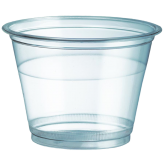 9 oz Clear PET Plastic Cold Cup
