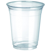 12 oz Clear PET Plastic Cold Cup