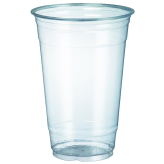 20 oz Clear PET Plastic Cold Cup