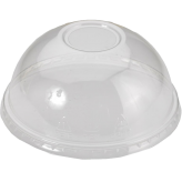 Dome Lids For  16 oz to 24 oz Clear PET Plastic Cold Cup