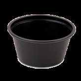 2 oz Black Souffle Cups