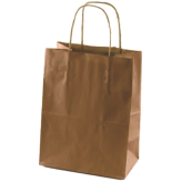 Medium Shopping Bags With Handle 12 1/2 inch x7 inch x17 1/2 inch