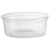 8 oz Clear Round Deli Containers