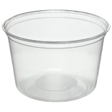 16 oz Clear Round Deli Containers