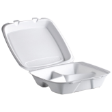 Reyma 9x8 Foam 3 Compartment Hinged Lid
