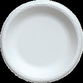 Reyma 10 inch White Foam Plates