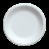 7 inch White Foam Plates