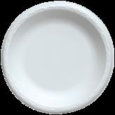 Reyma 9 inch White Foam Plates