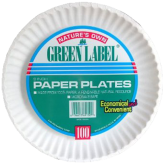 9 inch Light Paper Plates