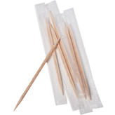 Mint Flavored Wrapped Toothpicks