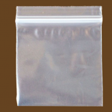 "7""x8"" Zip Lock Bags Clear 2MIL Poly Bag Reclosable Plastic Baggies (Quart)"
