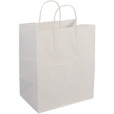 70 lb Craft Paper Bags with Handle 14 inch x10 inch X15 1/2 inch
