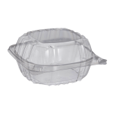 5x5 Clear Hinged Lid (Durable)