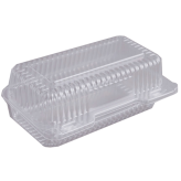 9x5 Clear Hinged Lid (Durable)