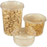 Clear deli containers 8, 16 and 32oz