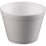 16 oz Extra Squat Foam Food Containers