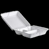 9x9 Foam 3 Compartment Hinged Lid