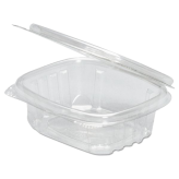 06 oz. Clear Hinged Deli Container