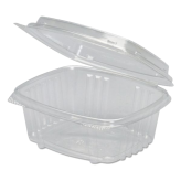 12 oz. Clear Hinged Deli Container
