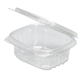 16 oz. Clear Hinged Deli Container