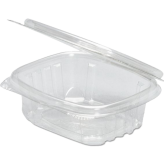 32 oz. Clear Hinged Deli Container