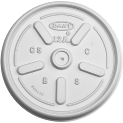 Plastic Lids for 6 and 8 oz Foam Food Containers