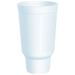 32 oz Insulated Hot or Cold Foam Drinking Cups