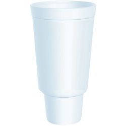 44 oz Insulated Hot or Cold Foam Drinking Cups