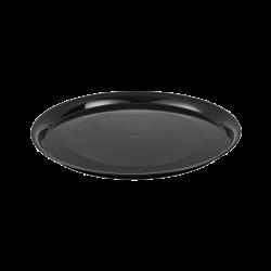 Fineline Settings 7201-BK Black Supreme 12 Round Tray
