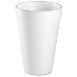 16 oz Insulated Hot or Cold Foam Drinking Cups